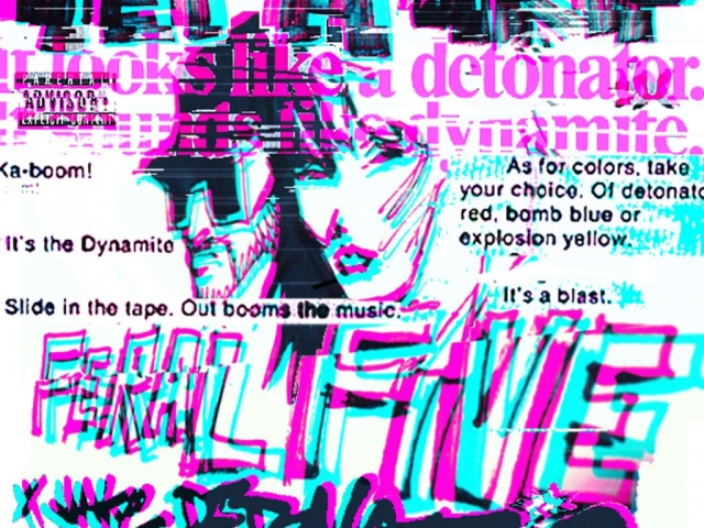 feral give, get a grip, jake detonator, remix, single cover, artwork, alternative, hip hop, electronica