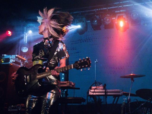 Feral Five, live, Concorde 2, Brighton, support, Black Grape, electropunk, electronica, electro, electronic music, kat five, guitar, live music