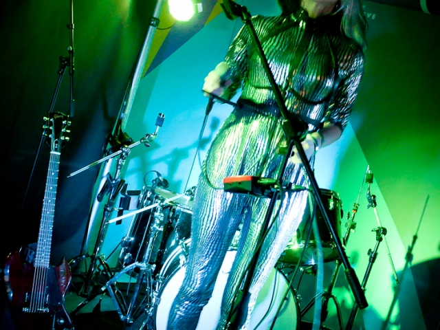 Feral Five, live, Cro Cro Land, festival, London, Croydon, electropunk, electronica, electro, electronic music, kat five, live music