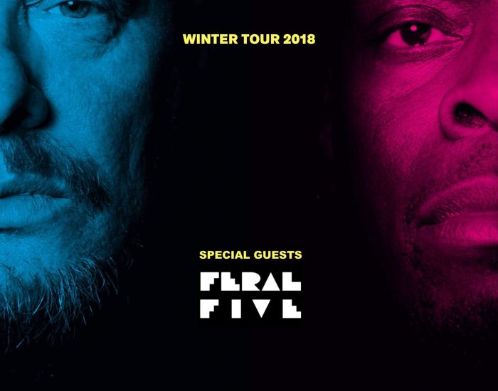 Feral Five, Black Grape, show, gig, Brighton, Concorde 2, support, 16 November, Shaun Ryder, Kermit Leveridge