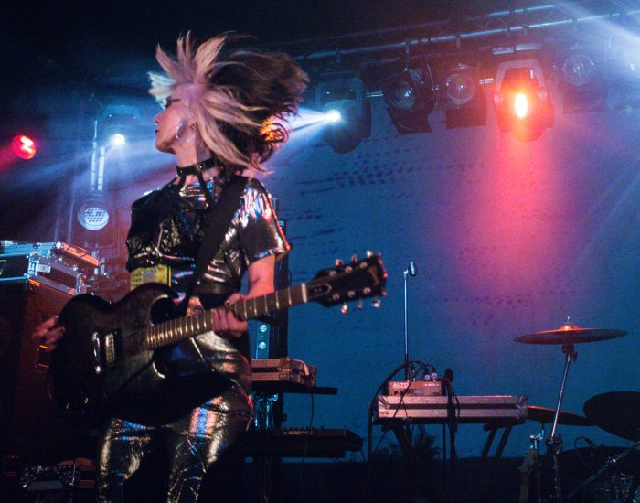 Feral Five, Concorde 2,Black Grape, support, Brighton, electronica, electro, electropunk, electronic, Kat Five, photo by Jamie MacMillan, live, live music